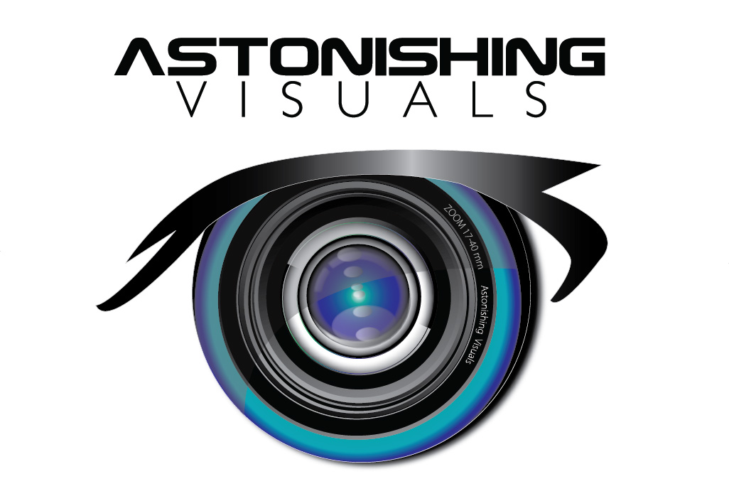 Astonishing Visuals Logo Design