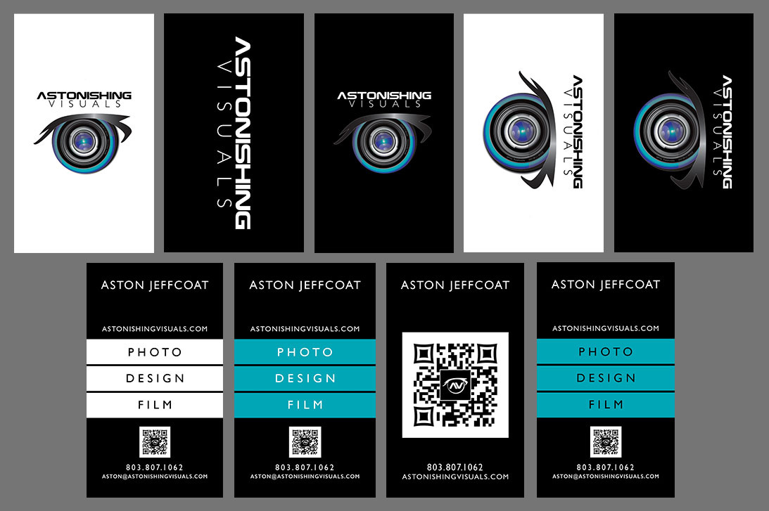 Astonishing Visuals Business Cards