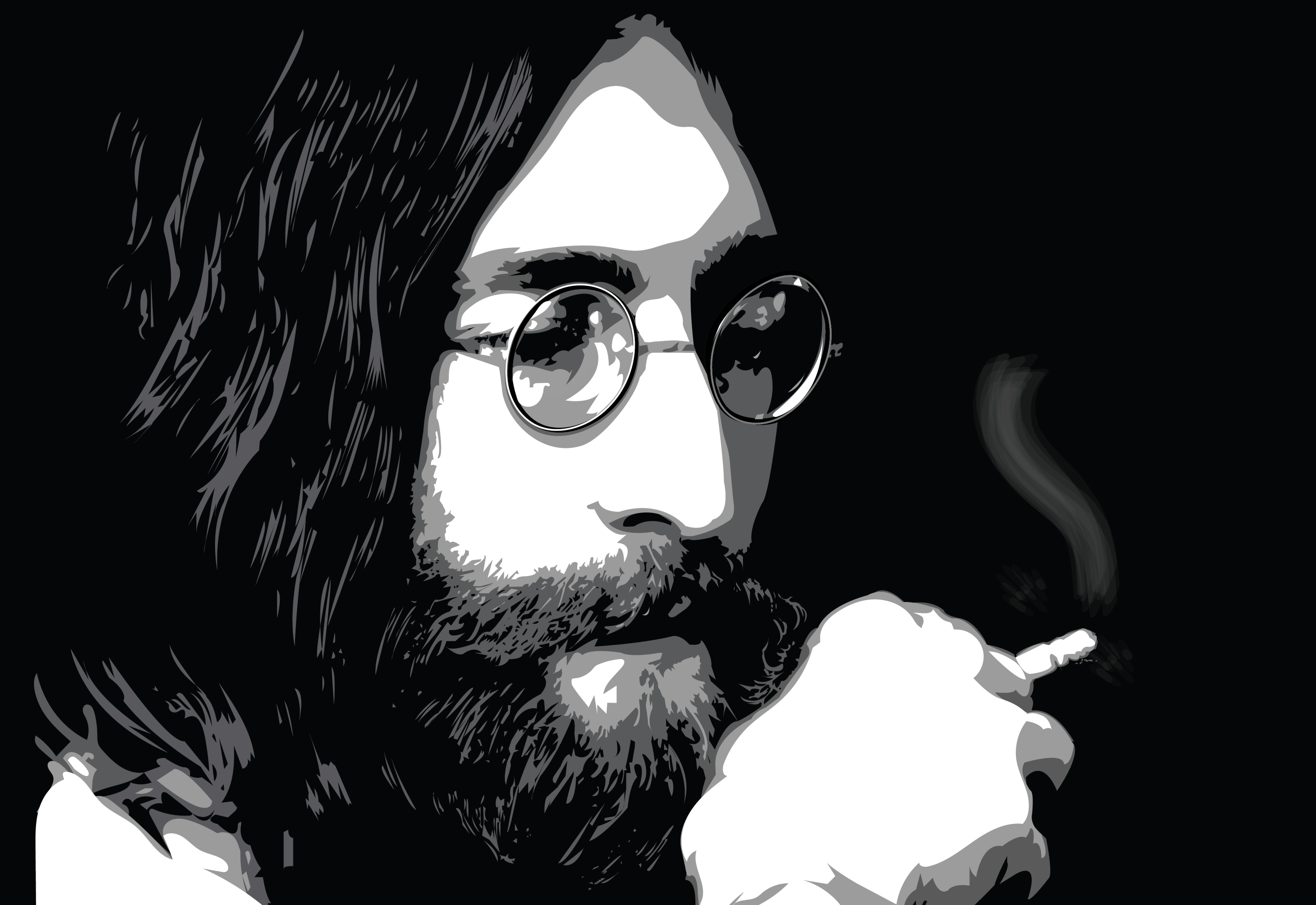 John Lennon Illustration