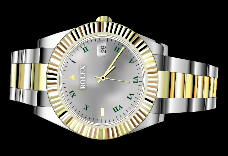 Rolex Watch Illustration